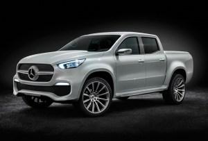 ¡Mercedes lanza su primer camioneta pickup X Class!