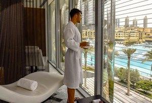El Burj Khalifa ahora tiene tratamientos de spa para gentlemen
