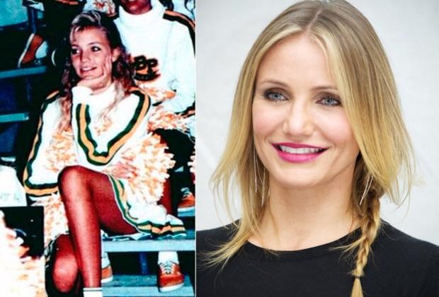 ¡Estas celebridades solían ser porristas! - cameron-1024x694