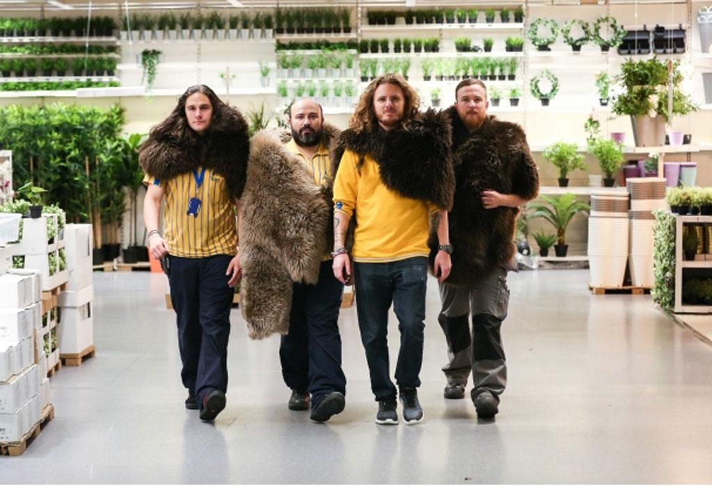 Disfrazarte de Jon Snow nunca fue más fácil y los trabajadores de Ikea los saben - ikeaworkers