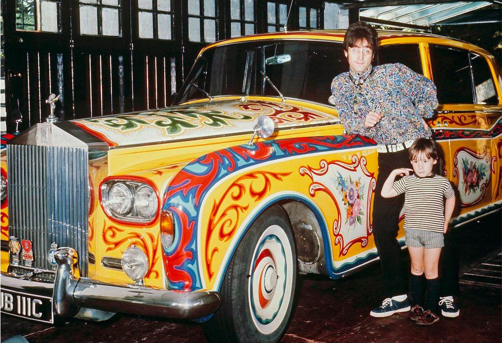 Conoce el Rolls-Royce Phantom V con el que John Lennon hizo historia - lennon-rolls-royce
