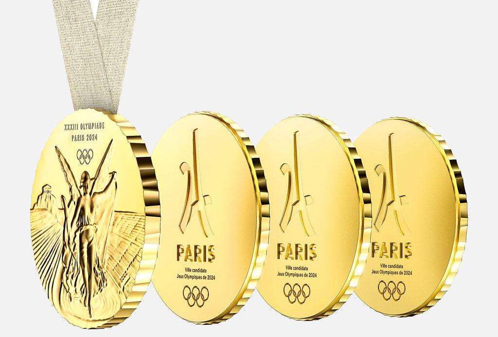 ¡Philippe Starck será el diseñador de la medalla olímpica de Paris 2024!