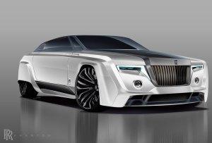 ¿Cómo se vería un Rolls Royce en el 2050?