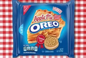 ¡Pronto habrá unas Oreos con sabor a pay de manzana!