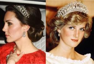 Kate Middleton agregó una joya de Diana de Gales su colección, ¿cuál es?
