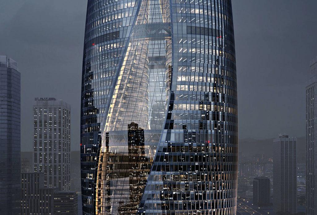 El nuevo atrio más alto del mundo es obra de Zaha Hadid - atrio-zaha-hadid-5