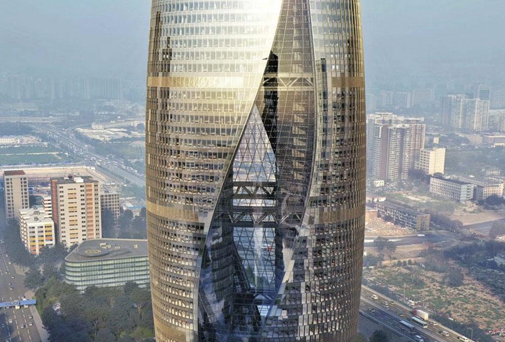El nuevo atrio más alto del mundo es obra de Zaha Hadid