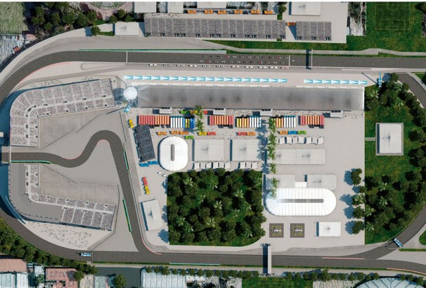 ¿Conoces la historia del Autódromo Hermanos Rodríguez? - autodromo-1024x694