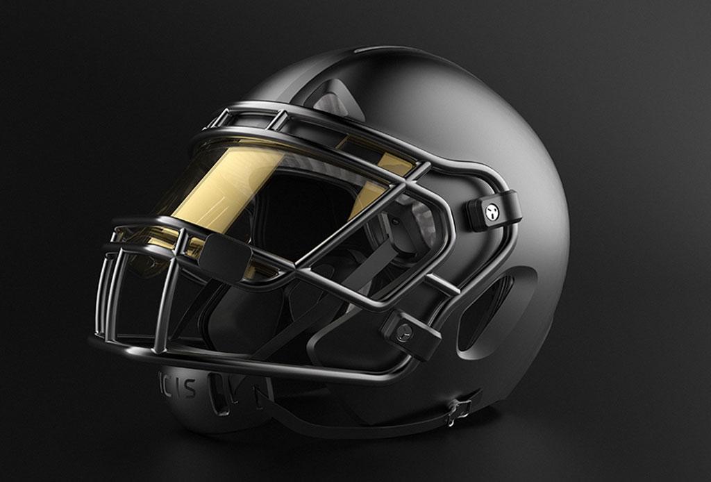 Así se ve el casco que los jugadores de la NFL usaron en la temporada 2017