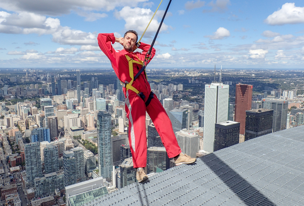 CN Tower Edgewalk: así fue como Luis Gerardo Méndez venció su miedo a las alturas