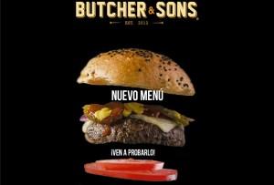Nuevo menú Butcher & Sons