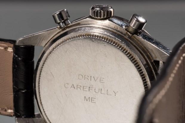 Por primera vez el legendario Rolex de Paul Newman está a la venta - drive-1024x683