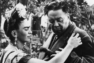 Ofrenda de Día de Muertos a Frida Kahlo y Diego Rivera