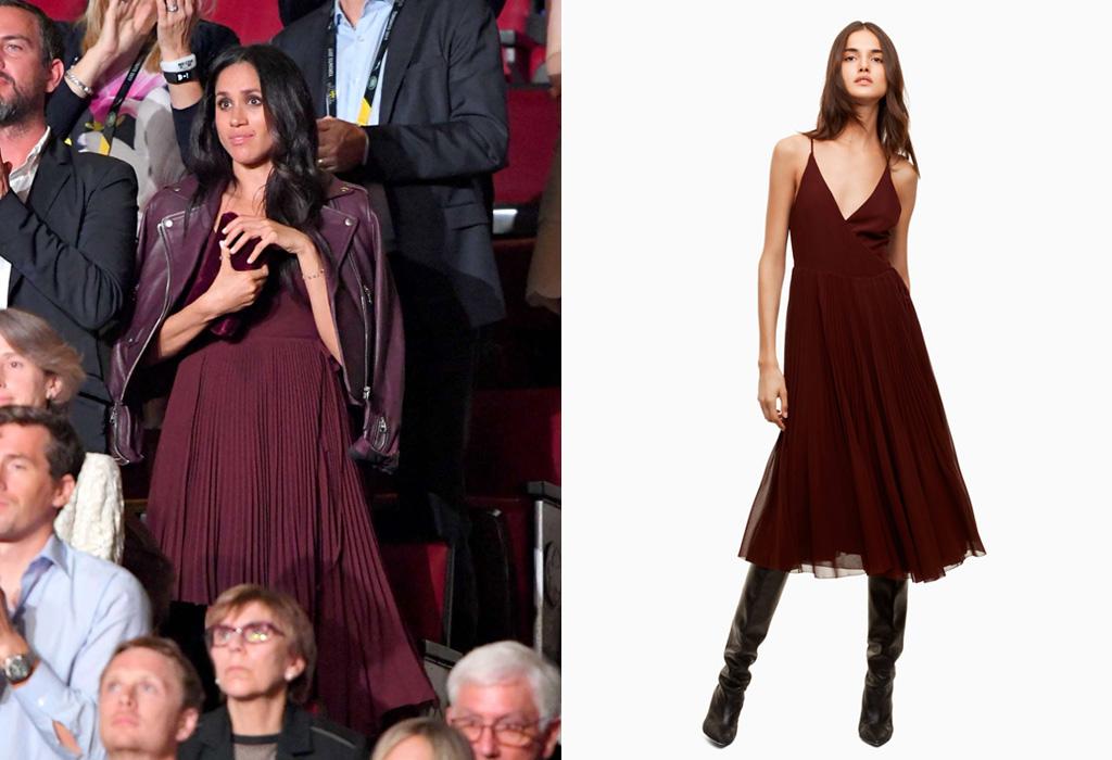 ¡Es oficial! Meghan Markle heredó el Kate Effect - meghan-dress