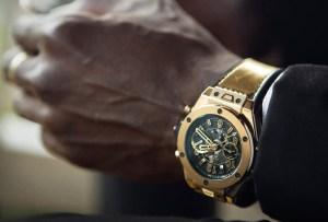 Las medallas olímpicas de Usain Bolt fueron la inspiración para crear estos relojes