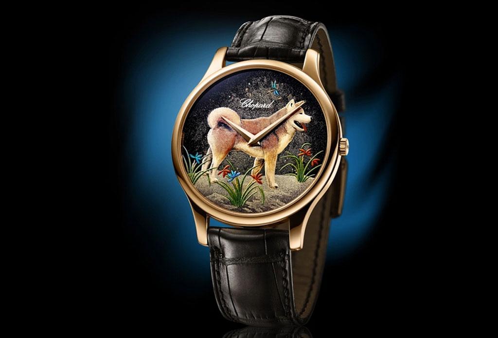 ¡Morirás de amor con este reloj que tiene a Hachiko pintado! - akita-2
