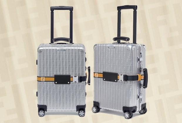 Vas a querer tener la maleta que Fendi y Rimowa lanzaron esta temporada - fendi-rimowa-1024x694