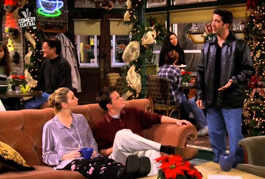 Disfruta de un maratón con los 9 episodios navideños de Friends - friends-temporada-navidad-4