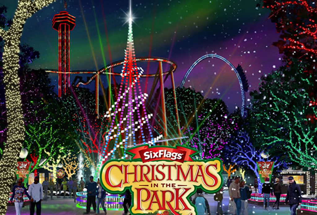 Christmas In the Park de Six Flags - six-flags-christmas