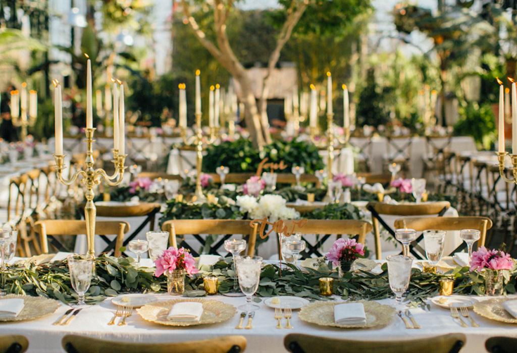 Tendencia en flores para bodas durante la primaveraverano
