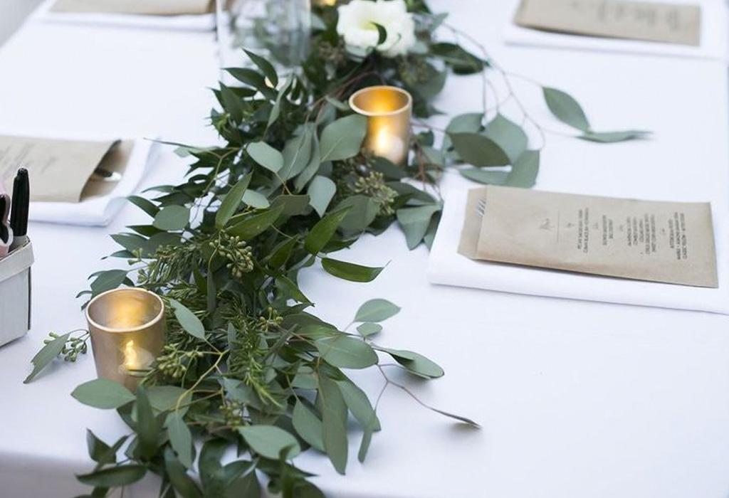 Tendencia en flores para bodas durante la primavera/verano - centros-dos