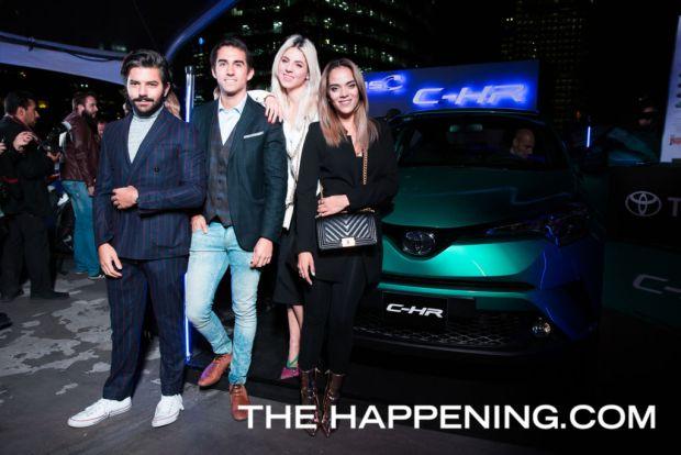 Toyota le da la bienvenida a dos innovadores modelos: PriusC y C-HR - juan-pablo-jim-eduardo-andres-heidy-esquinca-y-ana-pereyra_01