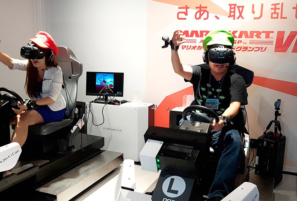 Ahora puedes jugar Mario Kart en ¡realidad virtual!