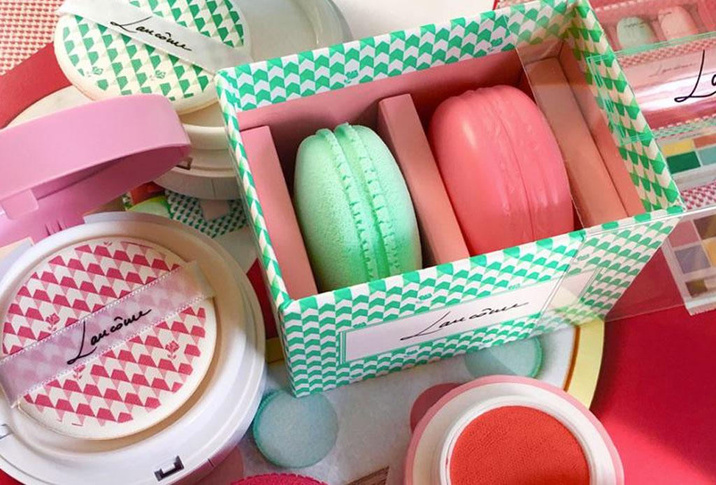 Una irresistible colección de maquillaje llega esta primavera ¡en forma de macarons! - lancome