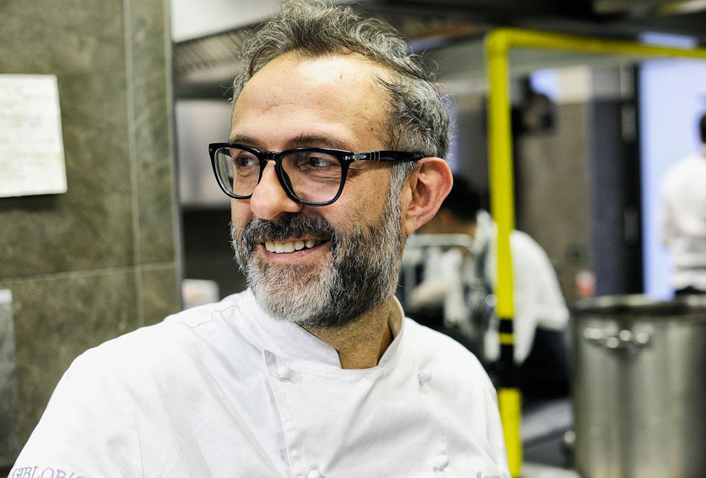 Conoce a la chef mexicana que está detrás del restaurante de Gucci y Massimo Bottura - massimo-bottura