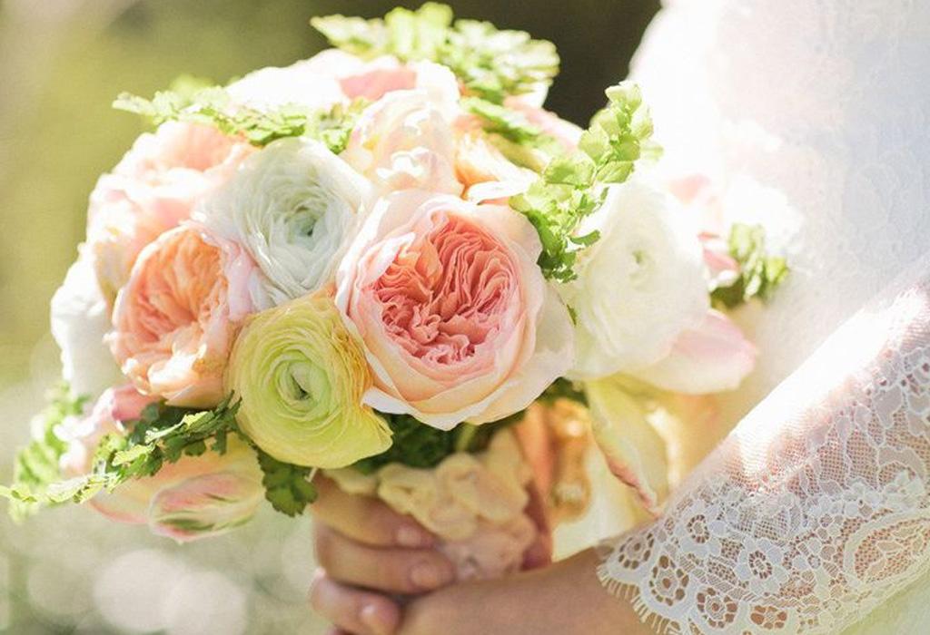 Tendencia en flores para bodas durante la primavera/verano - rrr