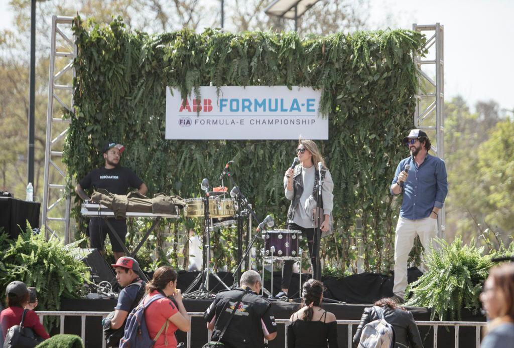 Kinky y Sotomayor en E-Prix 2018 - formula-e-conciertos