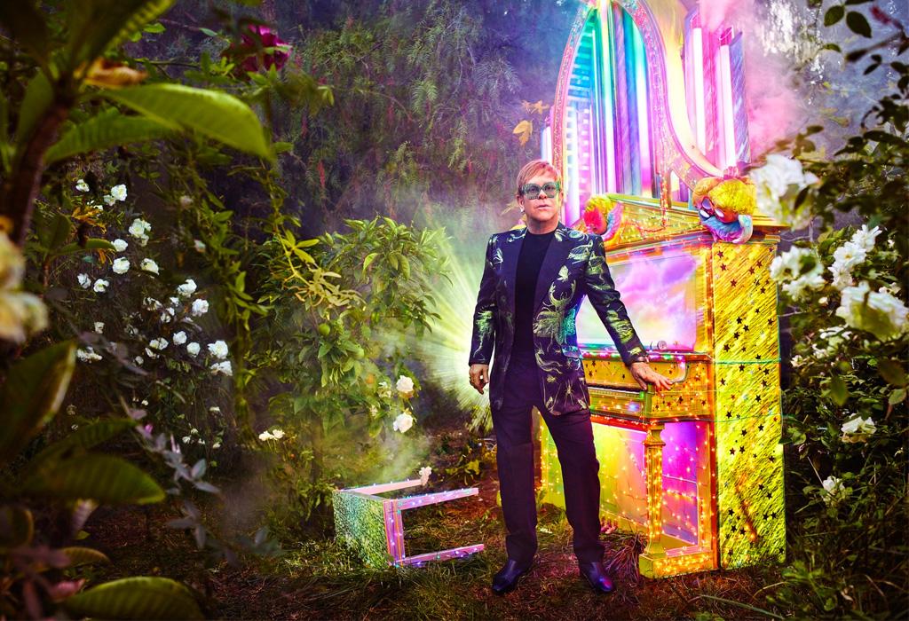 Gucci será quien vista a Elton John en su última gira mundial - guccieltonjohn