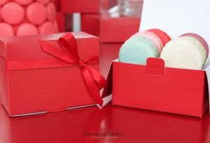 ¡Celebra el amor o la amistad con macarons!