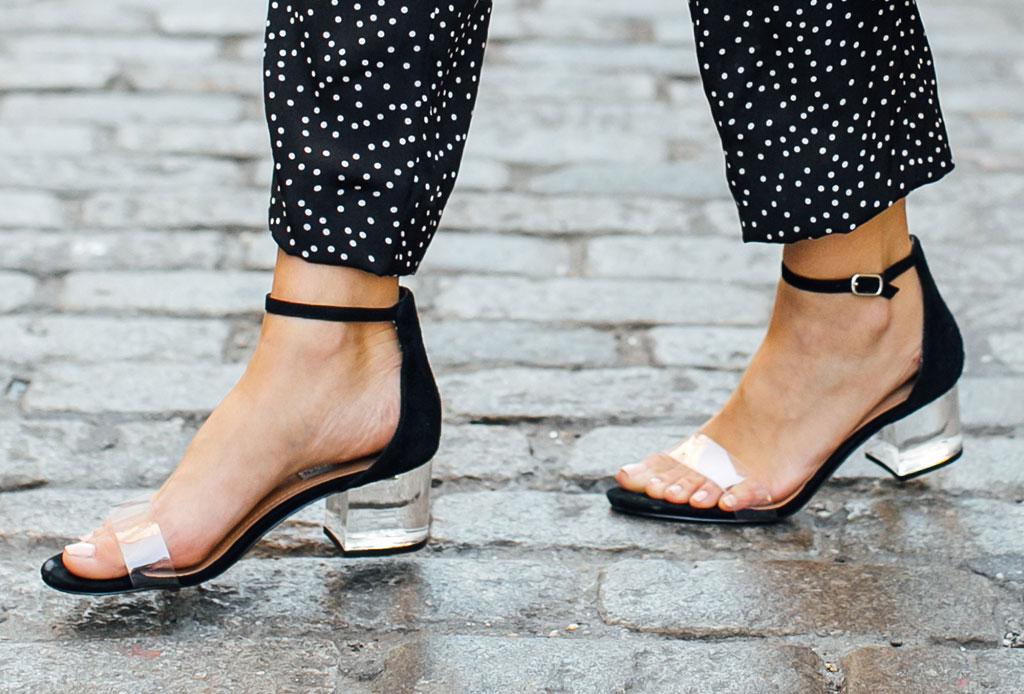 ¡Considera estos detalles antes de usar unos zapatos de plástico transparentes! - zapatos-plastico-1