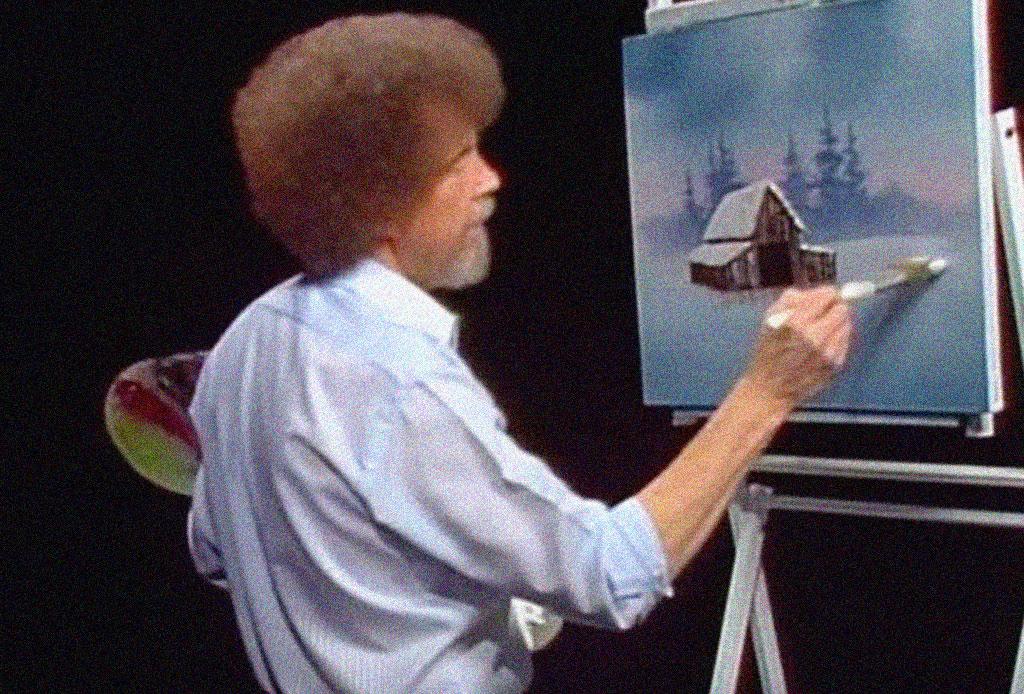 ¿Te acuerdas del pintor Bob Ross? Seguramente no sabías estos datos curiosos - bob-ross-03