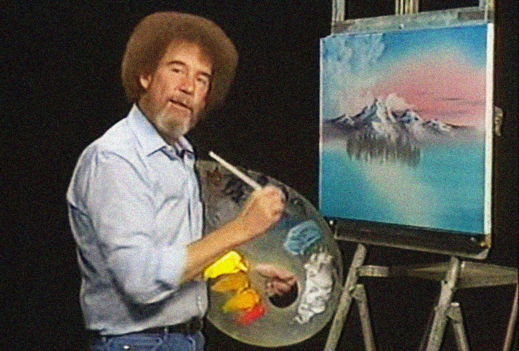 ¿Te acuerdas del pintor Bob Ross? Seguramente no sabías estos datos curiosos - bob-ross-4
