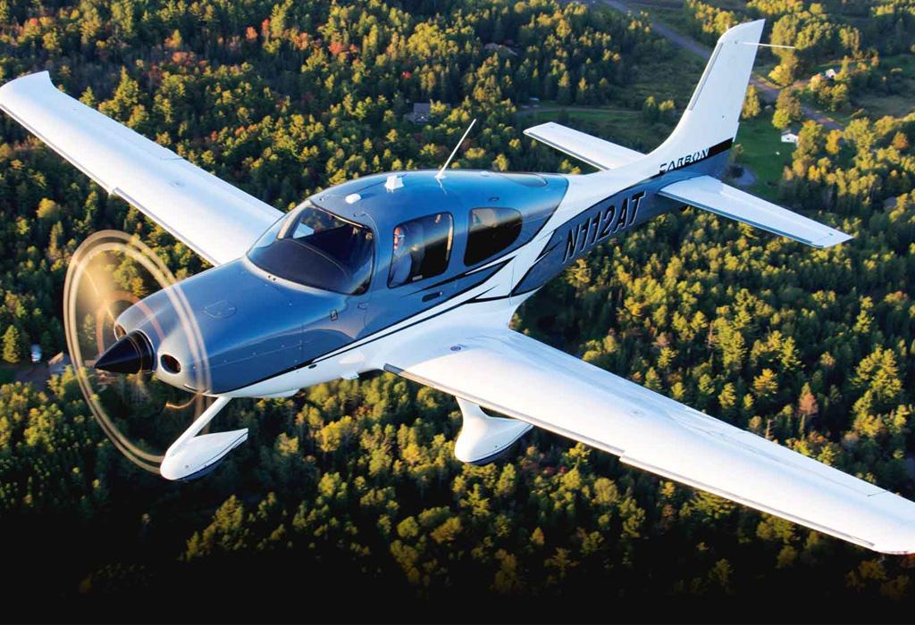 El arte de viajar en avión privado - cirrus