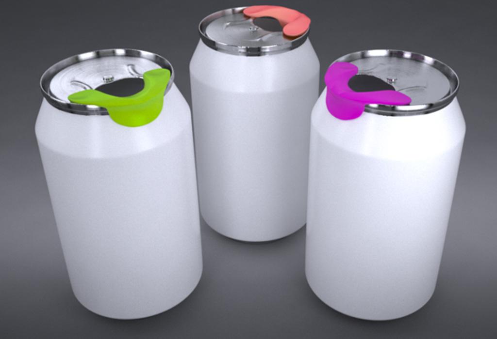 MySip: el gadget que permite beber directo de una lata sin riesgos