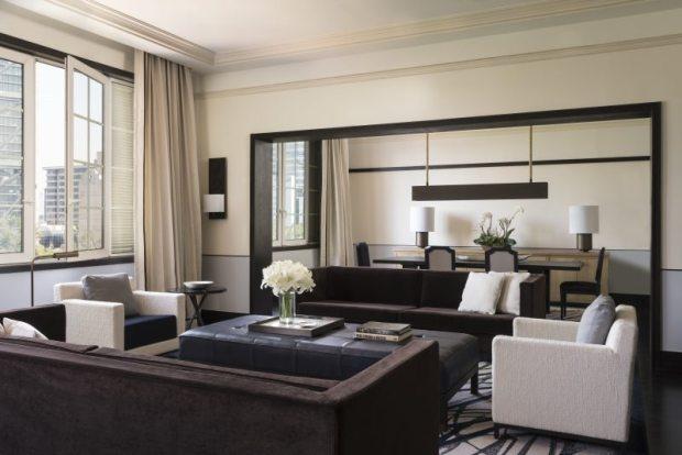 Estas son las suites más exclusivas de la CDMX - presidential-suite-living-room-2-e1462075798337