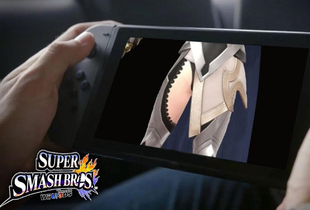 Llega un NUEVO Super Smash Bros para Nintendo Switch