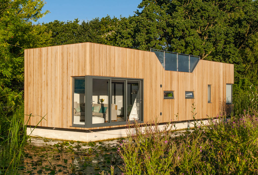 Las casas flotantes son el futuro ante el cambio climático - casas-anfibios-3