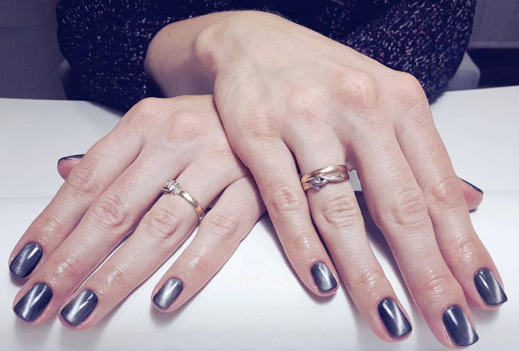 Cat Eye Manicure, el estilo en uñas que invade esta temporada - cat-eye-manicure-unas-4