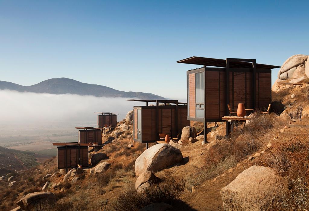 Estos son los hoteles más increíbles cerca de los viñedos mexicanos - hotelencuentro