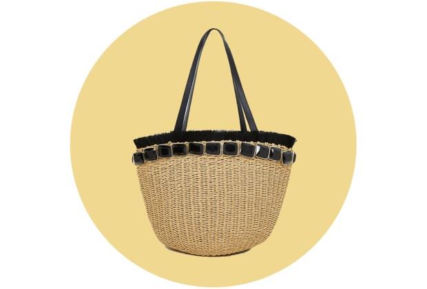Originales bolsas de palma y bambú para complementar tu outfit veraniego - uterque3