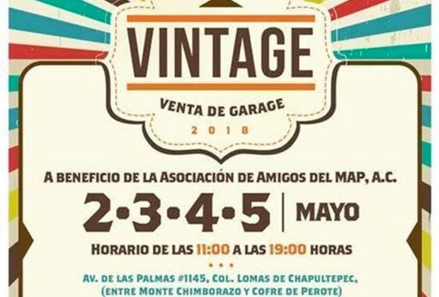 Happenings: todo lo que puedes hacer en la CDMX este fin de semana (4 - 6 de mayo) - venta-garage-vintage-1024x694