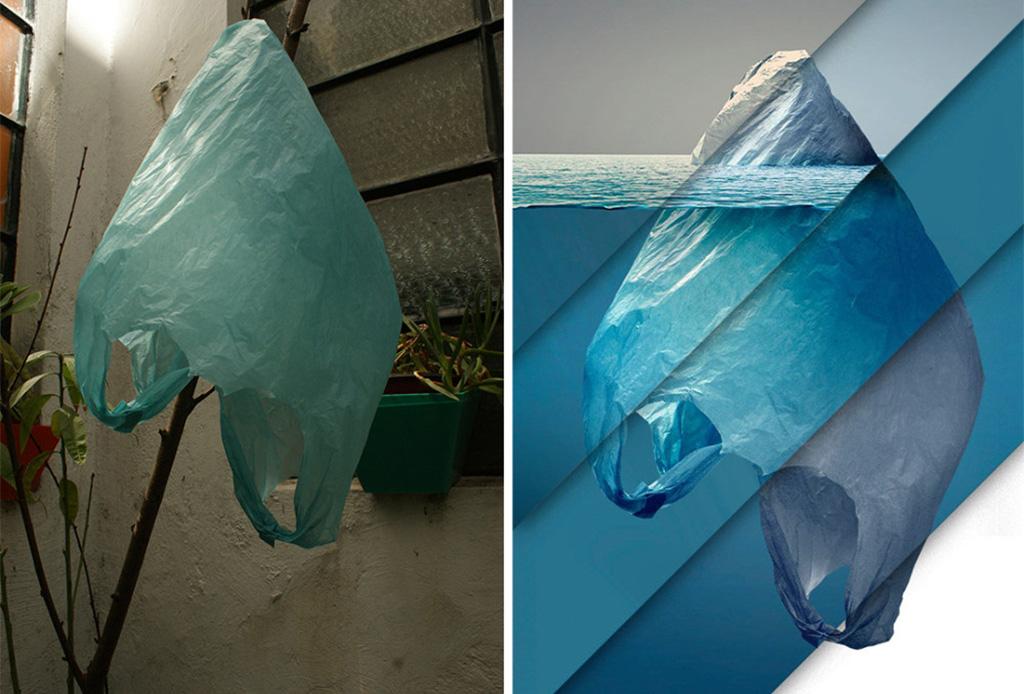 El curioso proceso creativo para lograr famosa foto del iceberg de plástico tomada por un mexicano - fotoiceberg3