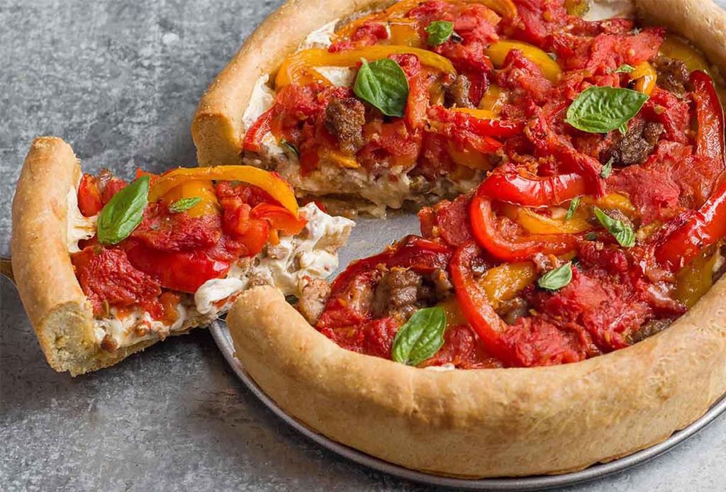 5 lugares para comer Deep Dish Pizza en Chicago que DEBES visitar