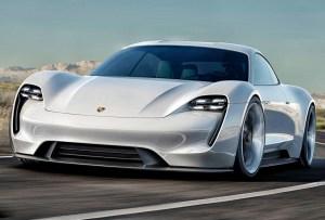 Porsche presenta Taycan, su primer auto completamente eléctrico