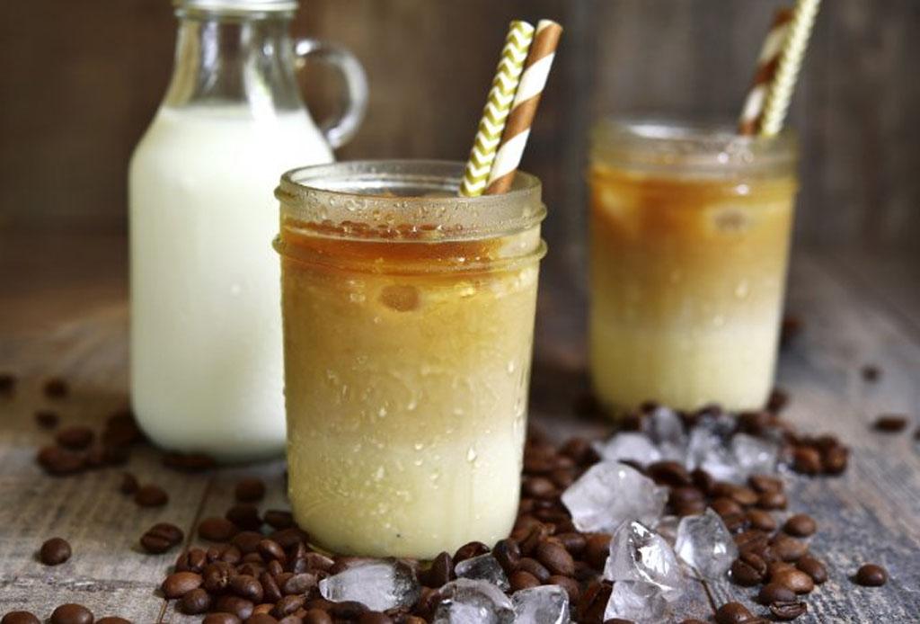 Prepara esta deliciosa agua de horchata con café