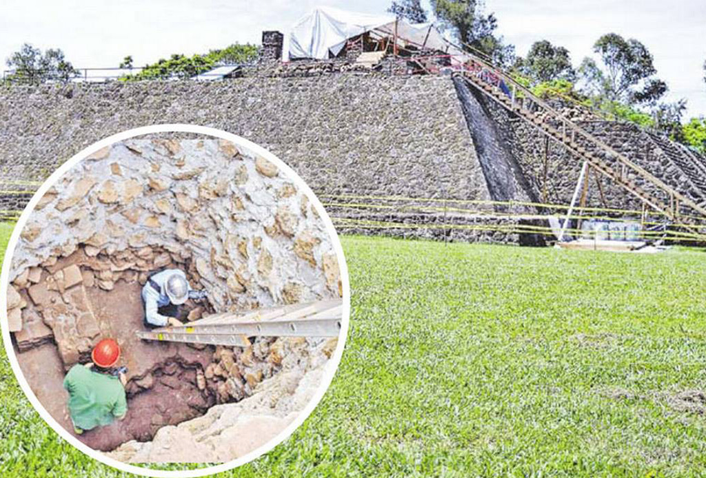 Este templo Tlahuica surgió en Morelos tras el terremoto del 19/S - teopanzolco4